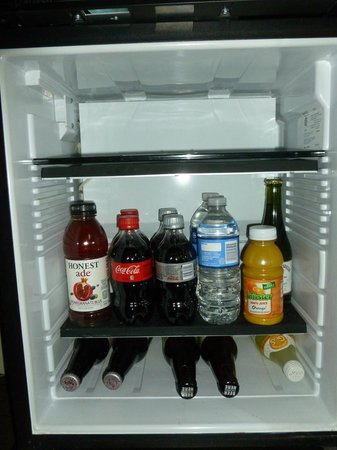Andaz Savannah:                   Mini Bar Drinks