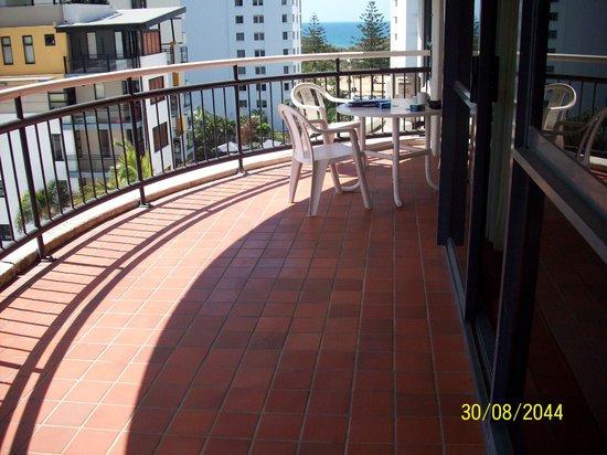Victoria Square Apartments:                   2 bedroom apartment balcony