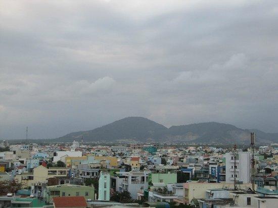 Gold Hotel:                                     The view.  I really liked Da Nang