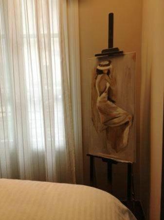Hotel Metropolis:                   Decoration details