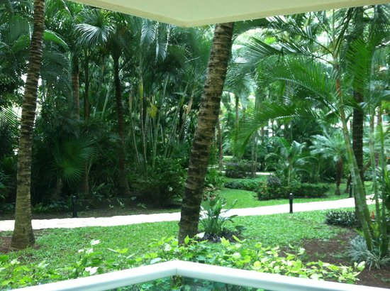 Grand Park Royal Cozumel:                   lush gardens