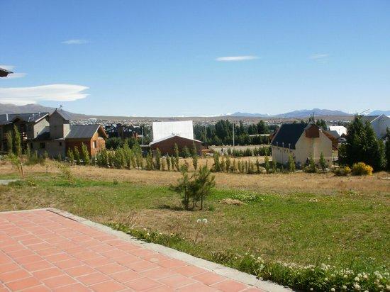 Picos Del Sur:                   Vistas posteriores del hotel