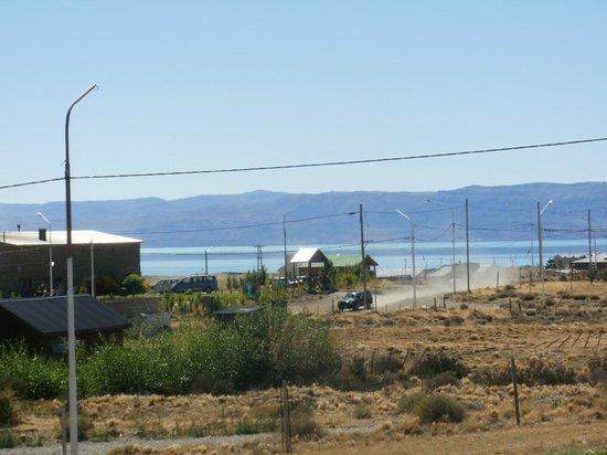 Picos Del Sur:                   Vistas al lago desde el hotel