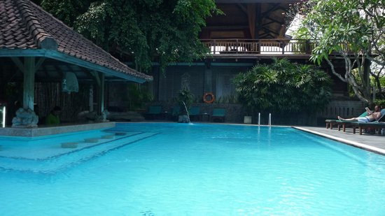 Hotel Puri Bambu:                   Piscine