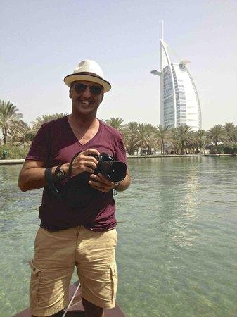 Jumeirah Beach Hotel:                   vista desde las villas