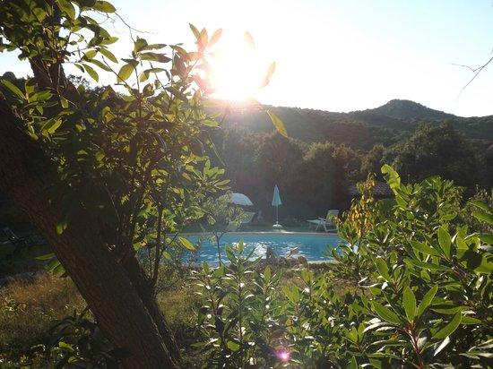cantu di u grillu :                   view from our room