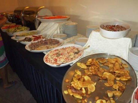 Hotel Scoglio del Leone:                   bouffet