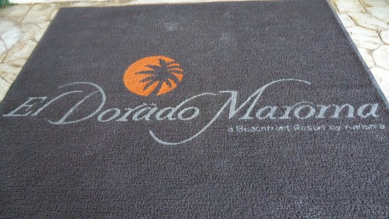 El Dorado Maroma, a Beachfront Resort, by Karisma:                   Welcome Mat