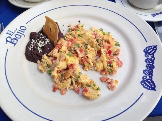 El Bajio Refoma:                   vegetable scrambled egg
