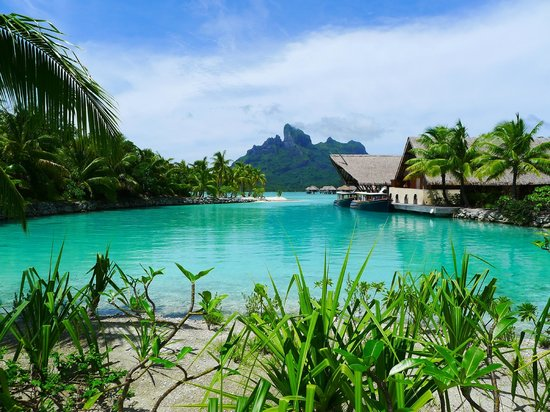 Four Seasons Resort Bora Bora:                   Compound