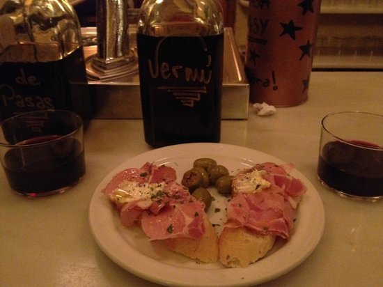 Bar Candela:                   yummy tapas and wine