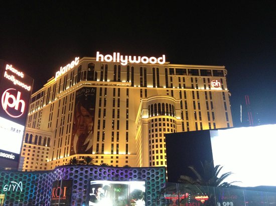 Planet Hollywood Resort & Casino:                   Fachada