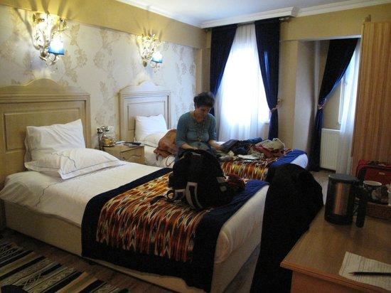 Diva's Hotel:                                     La camera