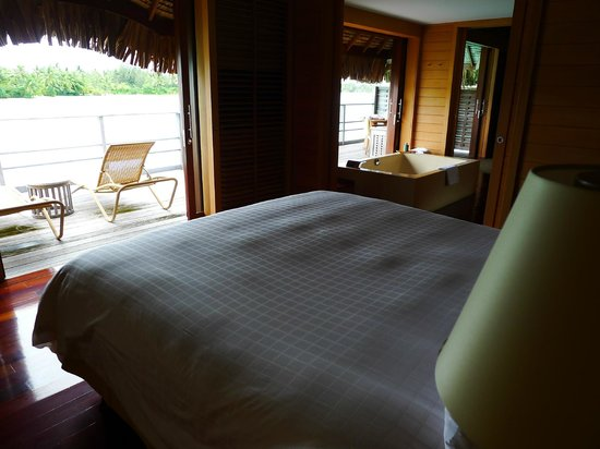 Four Seasons Resort Bora Bora:                   Bedroom