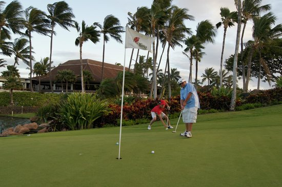 Aulani, a Disney Resort & Spa:                   Ko Olina Golf Course is a Short 10 Minute Walk Away