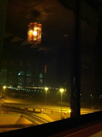 Le Tarbouche Lebanese Restaurant :                                     The view
