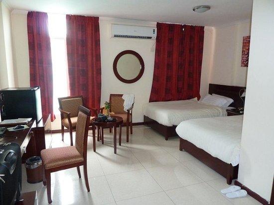 Hotel Palacio:                   Heerlijke kamer!