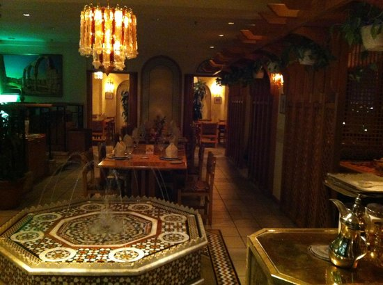 Le Tarbouche Lebanese Restaurant :                                     Part of the restaurant