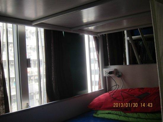Yesinn Causeway Bay:                   bed No.5