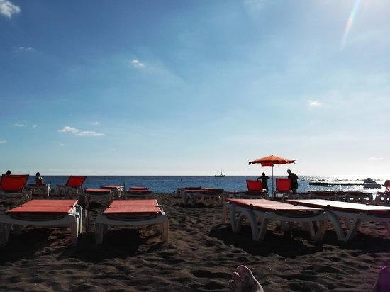 Aparthotel Parque de la Paz:                   the beach 2 mins walk away                 