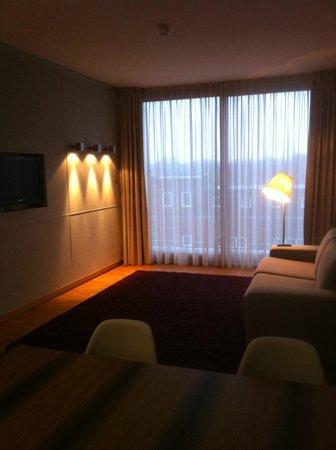Factory Hotel:                   Suite - Wohnbereich