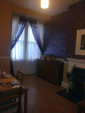 Sandsbrook Guest House: dining room