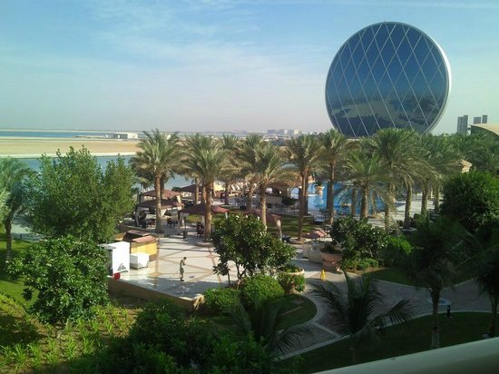 Al Raha Beach Hotel:                                     View form the Room