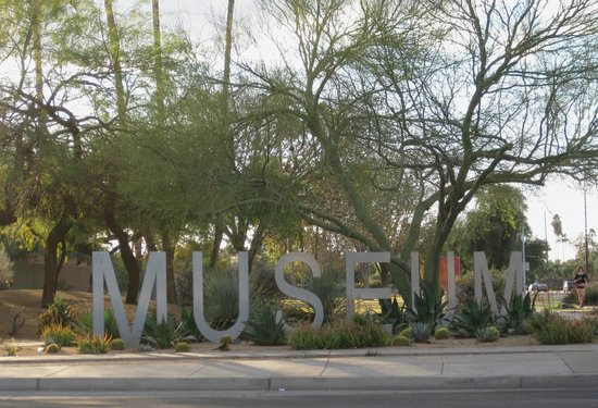 Tempe Historical Museum:                   Museum sign-Southern & Rural Rds
