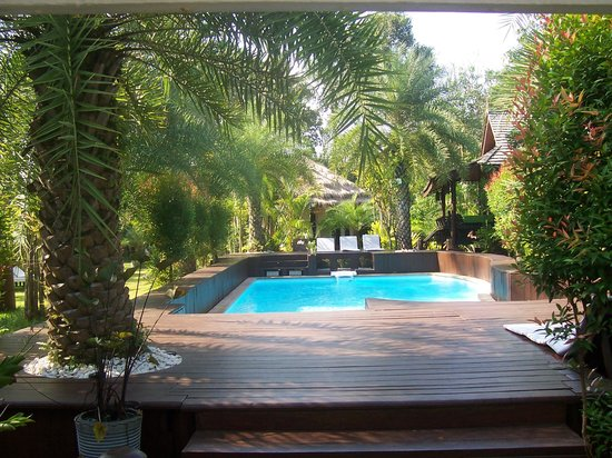 Baan Habeebee Resort:                   the pool