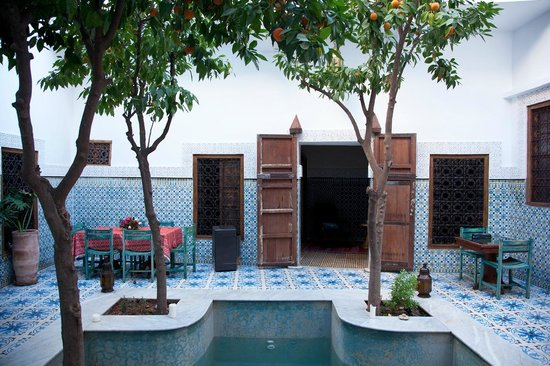 Riad Yamina : Ground Floor Courtyard