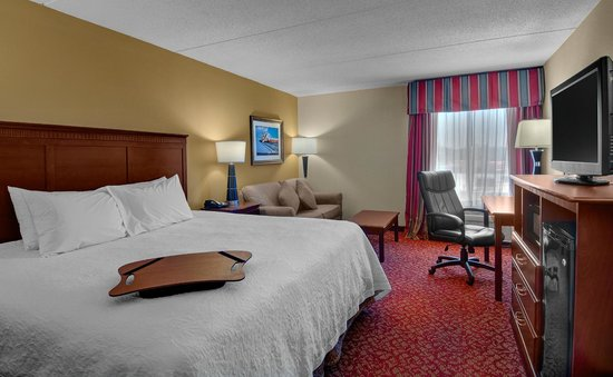 Hampton Inn Newport News-Yorktown: King Bed Study with Sofabed
