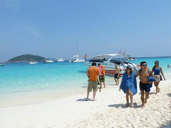 Similan Islands National Park:                   Similan islands