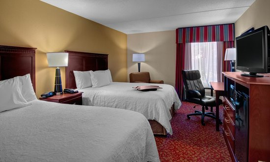 Hampton Inn Newport News-Yorktown: 2 Double Beds