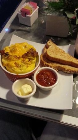 Hotel Indigo Chicago Downtown Gold Coast:                                     Breakfast Fritatta...tasty and a great way to begin the day