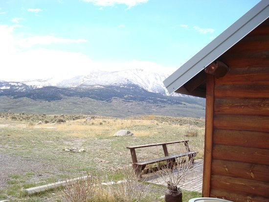 Above the Rest Lodge : Montana mountains