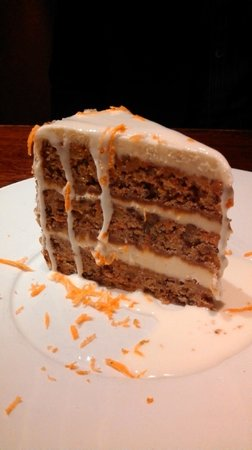 Joe Theismann's Restaurant:                   Carrot Cake - Yum