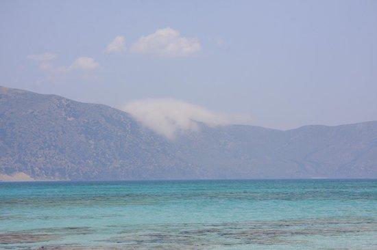 Strand von Elafonissi:                   Elafonissi