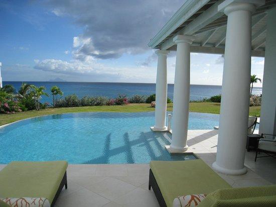Belmond La Samanna:                   view from villa                 