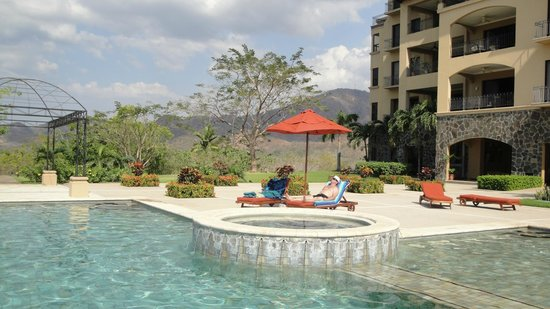 Reserva Conchal Beach Resort, Golf & Spa:                   The Malinche Pool - very nice, but little shade