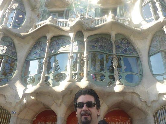 Casa Batllo:                   Casa Batllò, Barcelona