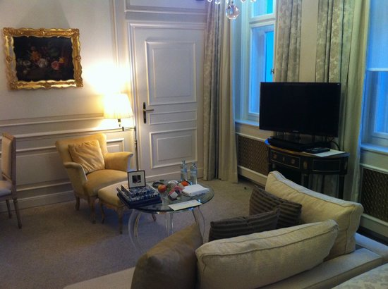 Hotel Sacher Wien:                   habitación