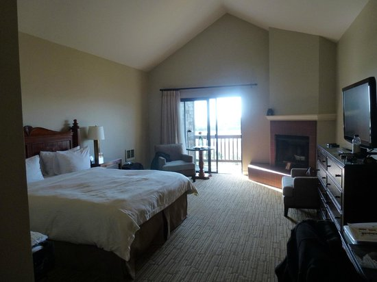 Bodega Bay Lodge:                   Room view