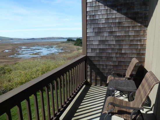Bodega Bay Lodge:                   Balcony View