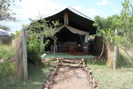 Kilima Camp:                   la tente standard
