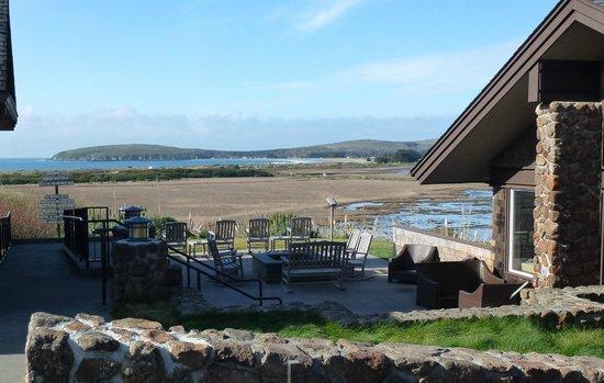 Bodega Bay Lodge:                   Wonderful view