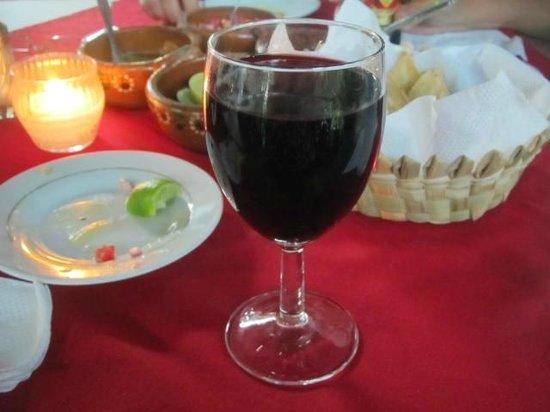 Rufo's Grill:                   Wine