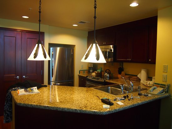 Marriott's Ko Olina Beach Club:                                     kitchen