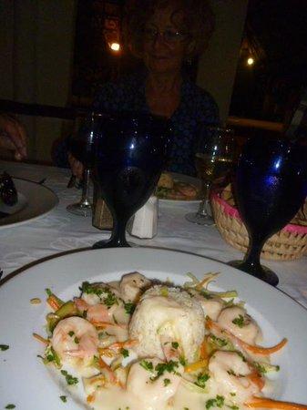 Allegro Playacar:                                     at the mexican restaurante(a la carte)