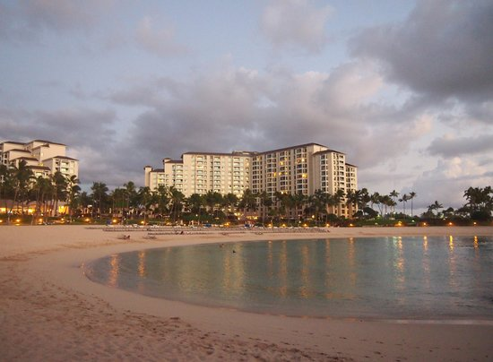 Marriott's Ko Olina Beach Club:                                     lagoon & resort