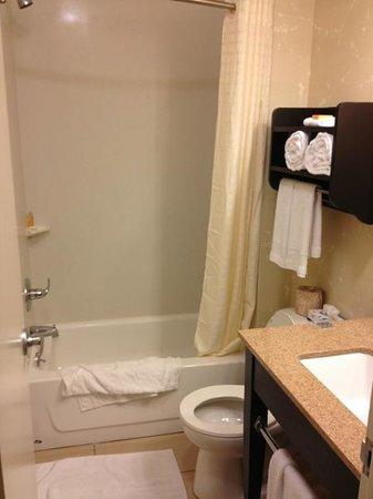La Quinta Inn & Suites Manhattan:                   vasca con doccia